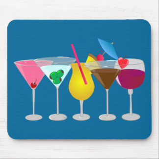Party Drinks Mouse Pad