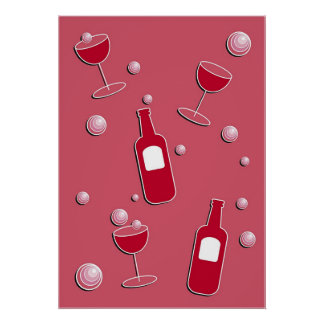 Party Drinks Poster