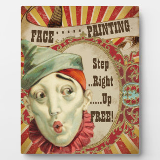 Party Face Painting Sign Display Plaque