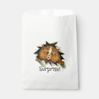 Party Favor Bag, Surprise Party Cat Favour Bag