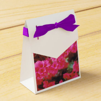 Party Favor Bag with Bright Pink Azaleas Favour Box