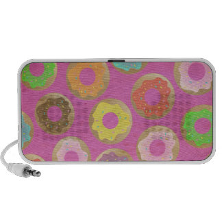Party Foods in Pink Travelling Speaker