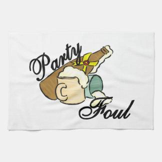 Party Foul Tea Towel
