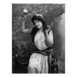 Party Girl, 1902 Print