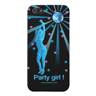 Party girl i-phone case iPhone 5/5S cases