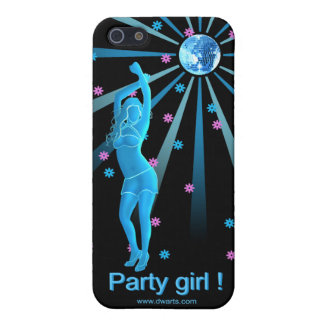 Party girl i-phone case iPhone 5 case