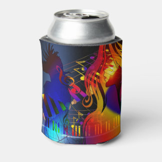 Party Girl With Music Drink Holder Can Cooler