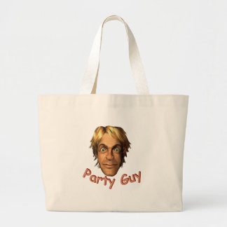 Party Guy Large Tote Bag