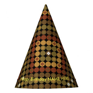 Party Hat Polka Diamond Magic
