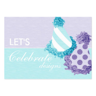 Party Hats Business Card B2