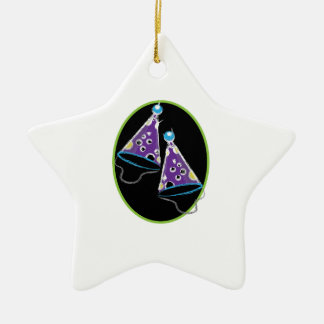 Party Hats Christmas Ornaments