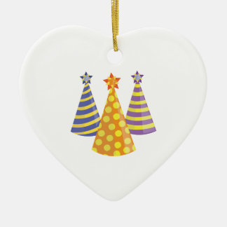 Party Hats Christmas Tree Ornament