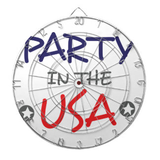 PARTY IN THE USA DARTBOARD