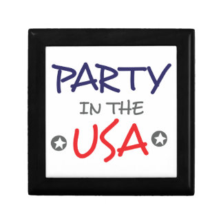 PARTY IN THE USA GIFT BOX