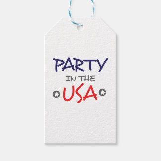 PARTY IN THE USA GIFT TAGS