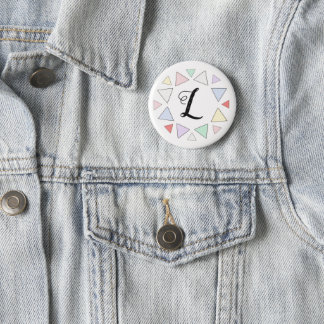 party initial button