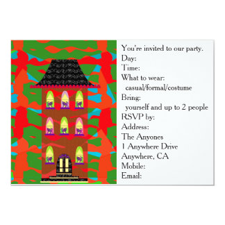 Party Invitation Card (for Cat Lovers)