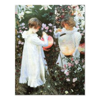 Party Lanterns Birthday Invitation