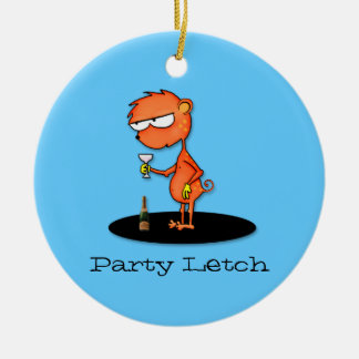 Party Letch Christmas Ornament