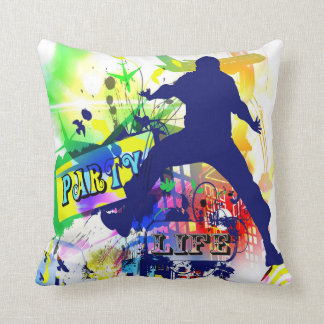 Party Life Dance Pillow