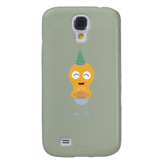 Party light bulb with cake Zt59y Samsung Galaxy S4 Case