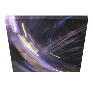 party lights at night 20x20 canvas print