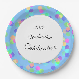 Party-Lights--Celebration(c)TEMPLATE 9 Inch Paper Plate