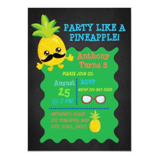 Party Like A Pineapple Birthday Invitation