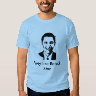 Party like Barack Star Tees