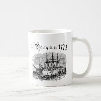 Party like It's 1773 Coffee Mug