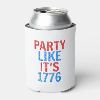 Party Like It's 1776 // July 4th Glitter Text