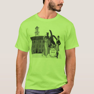 Party Like It's 1804! (front/back) T-Shirt