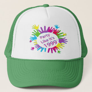 Party Like It's 1999® - Baseball Cap - Des 05 Hand