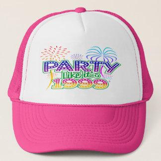 Party Like It's 1999® - Baseball Cap - Des 06 Palm