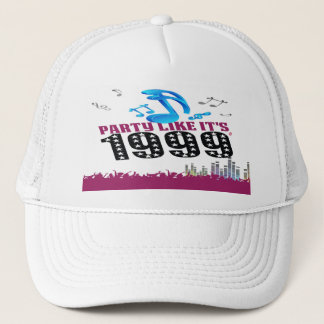 Party Like It's 1999® - Baseball Cap - Des 13 Musi