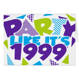 Party Like It's 1999® - Party Invitation - Des 01