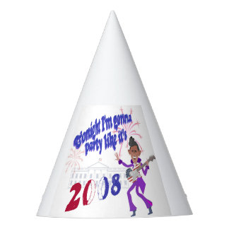 Party Like It's 2008 with Obama Prince Party Hat