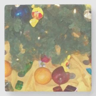 Party _Merry christmas to _coaster Stone Coaster