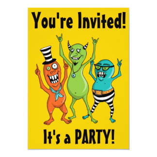 Party Monsters Invite