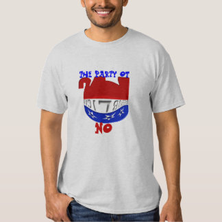 Party of NO Tshirts