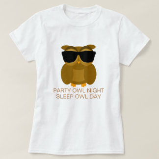 Party Owl Night T-Shirt