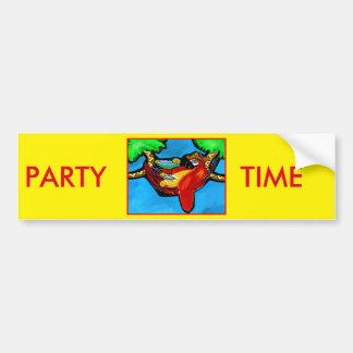 PARTY PARROT BUMPER STICKER