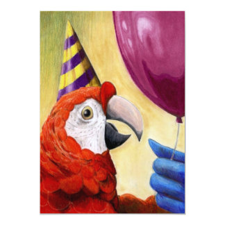 Party Parrot Invitation