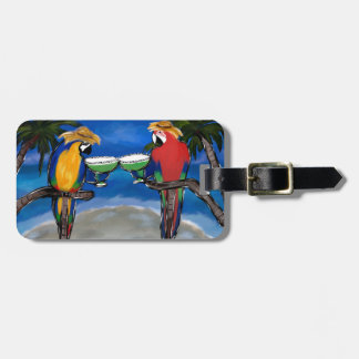 Party Parrots Luggage Tag