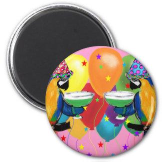 Party Parrots Magnet