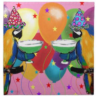 Party Parrots Napkin