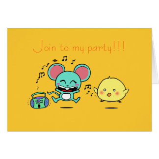 Party, Party! Greeting Card