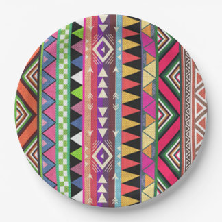 Party Pattern HHM Party Paper Plate
