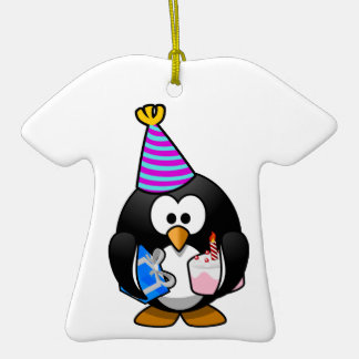 Party Penguin Christmas Ornament