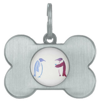Party Penguins Pet ID Tag